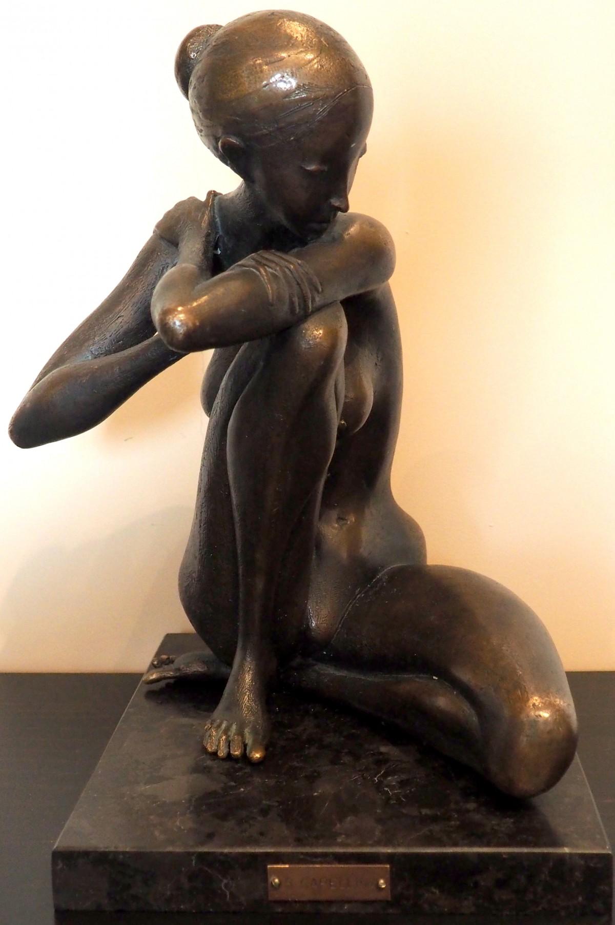 Раменская незнакомка скульптура фото бронзовая