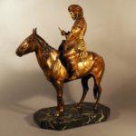 Фигура бедуина на лошади