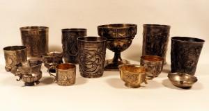 Русское Искусство Обложка Раздела Коллекция стаканов и чарок