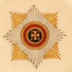 Тарелка с изображением ордена Св. Владимира