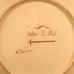 Ампирная тарелка с изображением античного сюжета