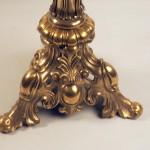 Столик – геридон (бронза, камень)