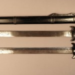 Парный меч «шуанцзянь» в ножнах