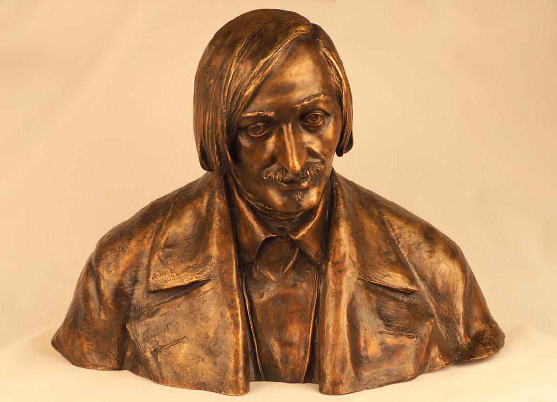 Бюст Н.В. Гоголя