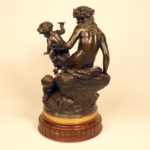 Скульптура «Вакханка и сатиры»