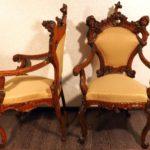 Диван и два кресла, зеркало